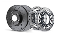 Brake discs <br>(steel, ceramic, cast iron, etc.)